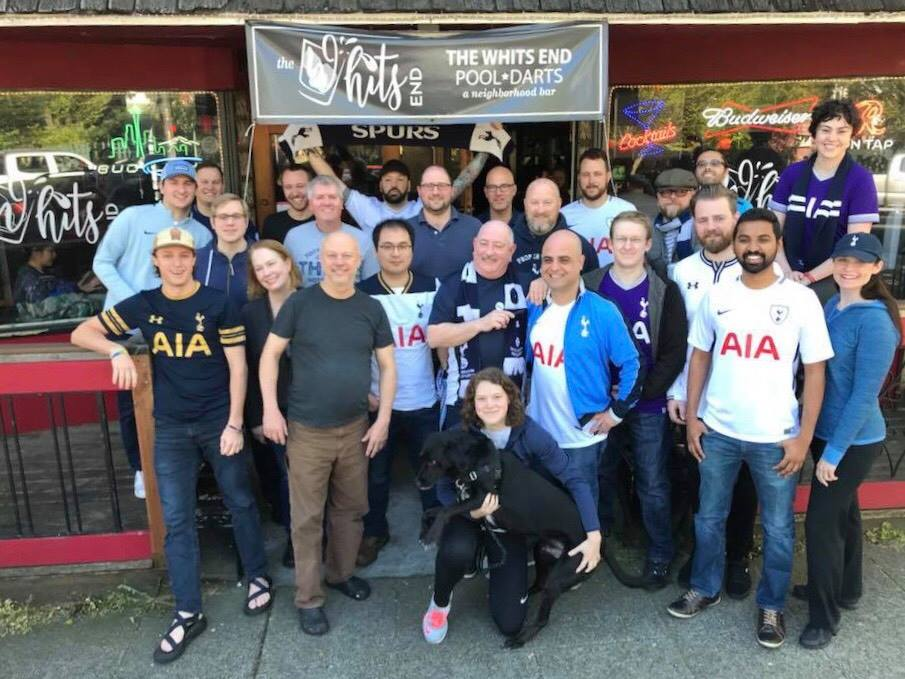 Seattle Spurs group photo